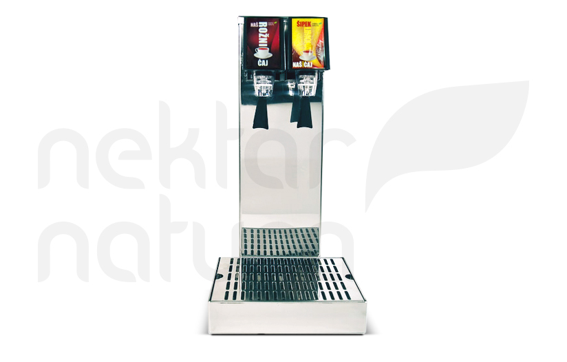 Nektar Natura tech R&D department develops post-mix tea dispenser